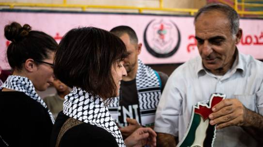 Fuori dal ring, fuori dalla piccola prigione di massima sicurezza di Gaza
