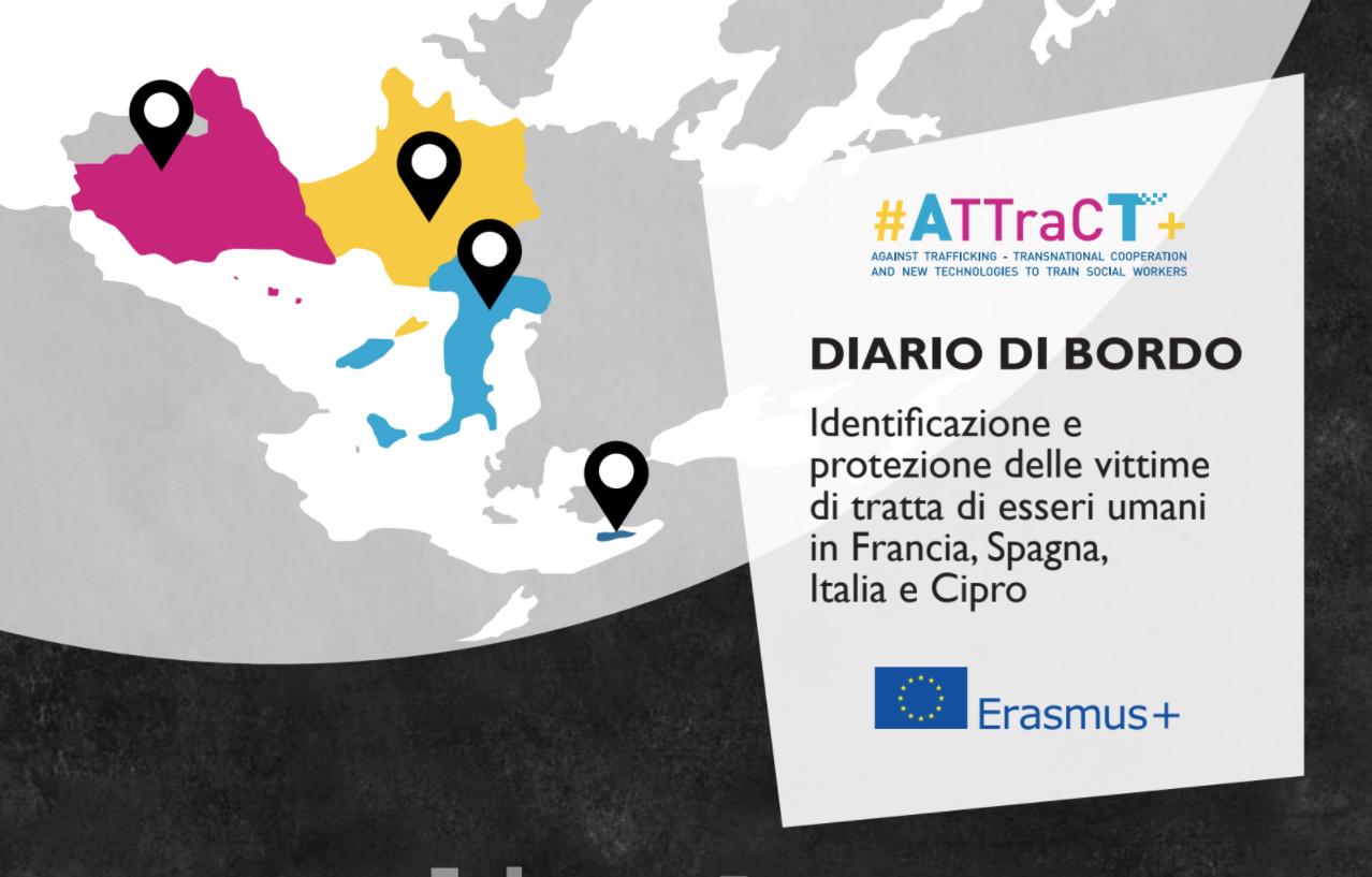#ATTraCT+ Cooperazione transnazionale e nuove tecnologie a servizio della formazione degli/le operatori sociali contro la tratta di esseri umani